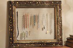 Accessory frame