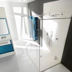 douche italienne blanche plazza ambiance bain