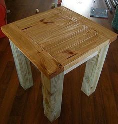 Ana White | Build a Tryed Side Table | Free and Easy DIY Project and Furniture Plans