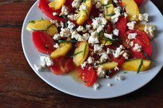 pfirsich-paradeiser-salat | esskultur