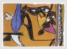 Gillian Ayres | Paintings | Works on paper | Editions | Monoprints - Gillian Ayres - Editions Camberwell College Of Arts, Painting Words, Contemporary Abstract Art, Abstract Painters, Various Artists, Artsy Fartsy, Printmaking, Original Artwork, Howard Hodgkin