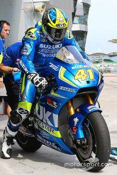 Aleix Espargaro, Team Suzuki MotoGP 2016 Sepang test