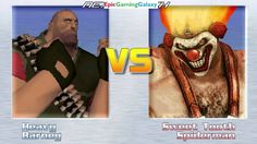 Barney The Dinosaur And The Heavy VS Sweet Tooth And Spider-Man In A MUGEN Match / Battle / Fight This video showcases Gameplay of Barney The Dinosaur From The Barney & Friends Series And The Heavy From The Team Fortress Series VS Sweet Tooth The Killer Clown From The Twisted Metal Series And Spider-Man The Superhero In A MUGEN Match / Battle / Fight