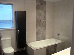 Auckland residential #bathroom with Graffiti Urban decor wall tile  #design #interior_design #bathroom_tiles