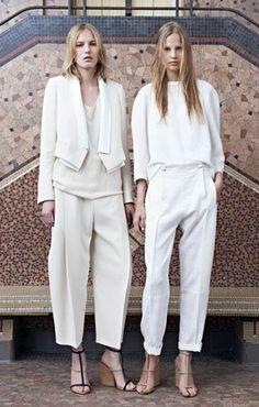 d5bb0a93416f Chloe Spring 2014 White Trousers