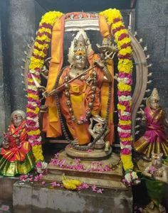 Rudra Shiva, Devon Ke Dev Mahadev, Lord Shiva Statue, Hinduism, Flower Decorations, Krishna, Spiritual, Culture, God