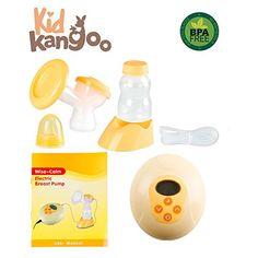 Kid Kangoo. Tire-lait électrique pour stimuler l'allaitement maternel. Le tire-lait est doté d'un micro-ordinateur intelligent pour garantir sa fiabilité et un réglage équilibré, ainsi que d'une fonction de massage (PACK 1) EUR 46,50