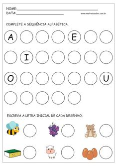 May Printables - Kindergarten Literacy and Math Kindergarten Literacy, Preschool Learning, Preschool Activities, Color Worksheets For Preschool, Alphabet Tracing Worksheets, Flashcards For Toddlers, English Activities, Free To Use Images, Too Cool For School