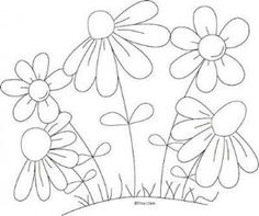 Satin Stitch Flower - Hand Embroidery Tutorial - Embroidery Patterns Mothers Flowers Country Line Art Pattern : Digi Scrap Kits - Quality Clip Art, Quality Clip Art, Digital Stamps, Cut Files by Trina Walker (Clark) Hand Embroidery Tutorial, Embroidery Flowers Pattern, Hand Embroidery Stitches, Embroidery Applique, Cross Stitch Embroidery, Machine Embroidery Designs, Embroidery Ideas, Simple Embroidery, Flower Patterns