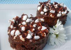Kessy's Pink Sugar: Fudgy Chocolate Marshmallow Brownies