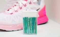Store bobby pins inside an old Tic Tac container so you don't lose them in your bag.