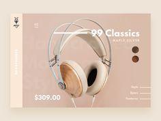 Headphone Product Card