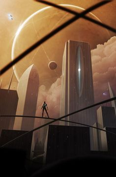 Skyline - by Aeon-Lux (Jonathan Maurin)