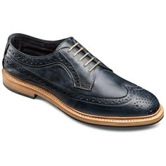 Banchory - Unstructured Long Wingtip Lace-up Oxford Mens Casual Shoes by Allen Edmonds