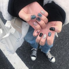 Nail Manicure, Diy Nails, Nail Inspo, Makeup Inspo, Cute Nails For Fall, Finger Art, Minimalist Nails, Fabulous Nails, Stylish Nails