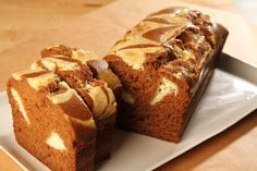 YUM! Our Pumpkin Loaf with Cream Cheese Swirl is too good for words. Try a slice at a Northern CA Peet's Coffee and Tea. www.citybaking.com