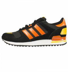 Adidas Originals ZX 700 Trainers Black / Orange