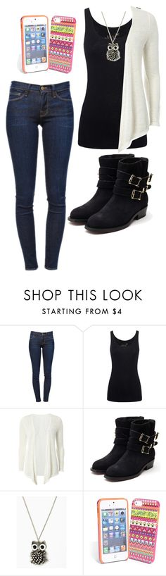 """""""State Fair"""" by sunset-oceans ❤ liked on Polyvore featuring Frame Denim, Juvia, Dorothy Perkins, Rupert Sanderson and Vera Bradley"""