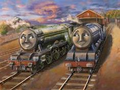 Thomas Movie, Flying Scotsman, Blue Train, Fantasy Forest, Thomas The Tank, Thomas And Friends, Best Face Products, Live Action, Locomotive