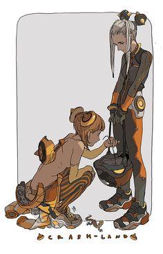 Kim o kwang Character Sketches, Character Design References, Character Illustration, Character Concept, Character Art, Concept Art, Illustration Art, Cyberpunk Character, Cyberpunk Art
