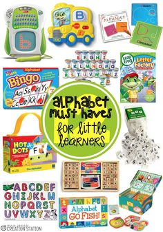 Alphabet Must-Haves for Little Learners