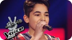Soufjan - Applause (Lady Gaga) | The Voice Kids 2014 Germany | Blind Aud... He's such a talented singer at such a young age...soooo cute :)