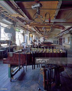 Steinway piano factory in Queens, New York