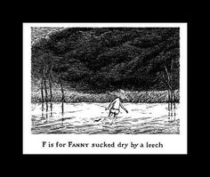 I love Edward Gorey and this person animated his Tinies.