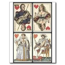 playing card suits vintage - Google Search