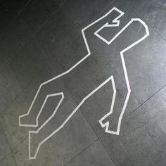 Om met tape op de vloer te maken