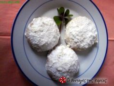 Greek Sweets, Greek Desserts, Greek Recipes, Sweets Recipes, Cooking Recipes, Greek Cookies, Eat Your Heart Out, Good Food, Awesome Food