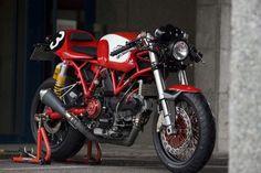 "Radical Ducati ""Cafe Veloce"" (Photos du diaporama : © Javier Fuentes)"