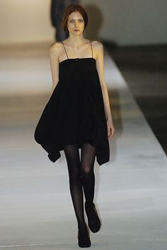 Fall 2005 Ready-to-Wear  Preen by Thornton Bregazzi  Model  Mateja Penava