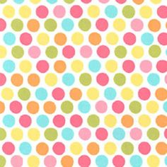 Yellow Diddly Dot  Michael Miller Fabric  Happy by SoTweetFabrics, $4.50