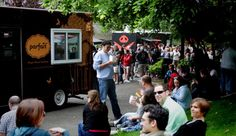 Parfait and Snout & Co. food trucks at Chateau Ste. Michelle Winery Staycation event