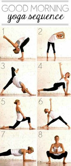 Good morning yoga routine!