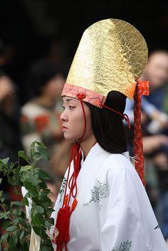 Shinto maiden--Miko