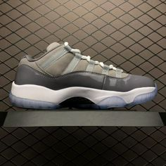 2019 New Release Air Jordan 11 Retro Low Cool Grey Online Sale 6487fdaac5cd