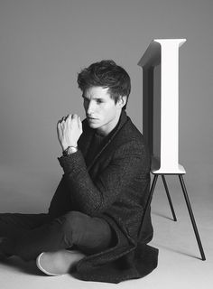 Eddie Redmayne -  'I find life noisy,' he says. 'With the benefits of being more connected comes the danger of being sucked into a world of more noise, where we are constantly switched on. Living in the moment feels more difficult than ever, and more valuable.' Read more at http://www.wallpaper.com/design/design-awards-2016-judge-eddie-redmayne-actor#Vql3L3odEmjY6gyD.99