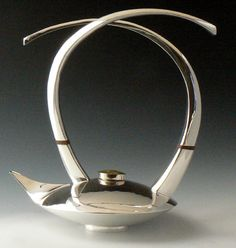 Cahoon Museum teapot-sterling silver