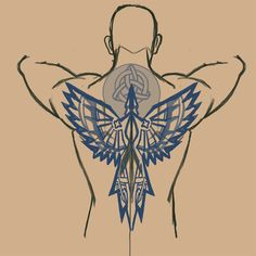 Raving Mad: Back Tattoo. Send to Ced Raving Mad: Back Tattoo. Send to Ced Dr Tattoo, Norse Tattoo, Celtic Tattoos, Viking Tattoos, Back Tattoo, Snake Tattoo, Tattoo Fonts, Tattoo Ink, Tattoo Sketches