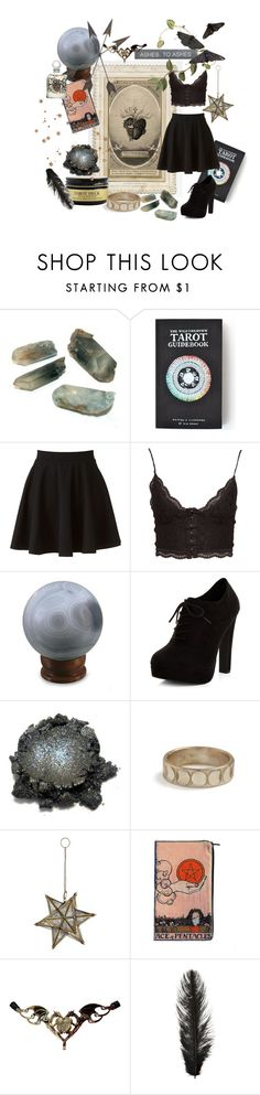 """""""~ ashes to ashes ~"""" by marianna-martino ❤ liked on Polyvore featuring The Wild Unknown, LC Lauren Conrad, NLY Trend, NOVICA, New Look, Rachel Entwistle, Pier 1 Imports, Holly's House and WALL"""