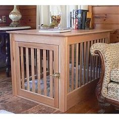 Wooden Dog Crates will make an attractive addition to any home. One of our  new
