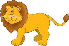 Image result for dibujos de leones a color para niños