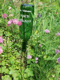 Pflanzschilder selber machen - Etiketten sind ein Muss, will man wissen, was man wann ausgesät hat. Und mit Namensschildern und Botschaften macht Gärtnern noch mehr Spaß.