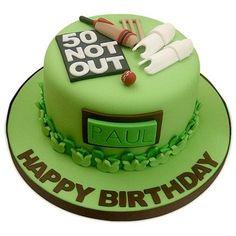 Birthday Cake Fgfcake Th Birthday Cake X - Pappot Birthday Cakes For Men, Cricket Birthday Cake, Cricket Theme Cake, 12th Birthday Cake, Themed Birthday Cakes, Cakes For Boys, 50th Birthday, Theme Cakes, Dad Cake