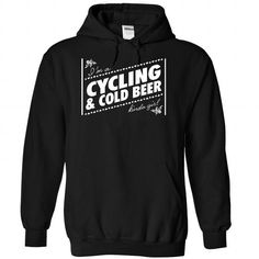 I am a Cycling and cold beer girl T Shirts, Hoodies. Get it here ==► https://www.sunfrog.com/LifeStyle/I-am-a-Cycling-and-cold-beer-girl--0915-9203-Black-Hoodie.html?41382