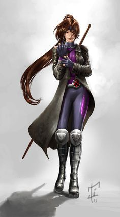 The New Gambit Girl?? by *IvannaMatilla. Not a bad Rule 63 of the Caijun :-)