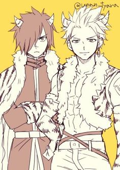 Fairy tail || Sabertooth The twin dragons slayer , Rouge & Sting I luv them