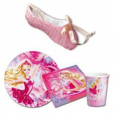 Pack anniversaire Barbie Danseuse